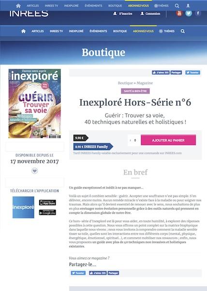 INREES Inexploré Hors Série n6